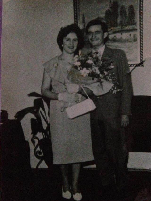 Det gulliga paret i maj 1960